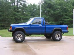 jeep dark blue budsride 1988 jeep comanche regular cab specs photos