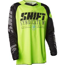 shift motocross helmets shift racing 2016 strike jersey yellow camo available at motocross