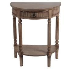 Half Circle Accent Table Half Accent Table Wayfair