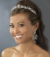 bridal tiara antique silver bridal tiara hp 179