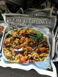 trader joe s riced cauliflower popsugar fitness