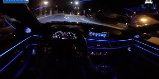 Bmw I8 Night - pov bmw 750i m sport night drive interior lighting