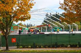 why microsoft is building one of north america u0027s largest tents on