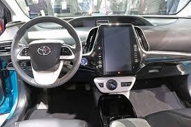 Interior Of Toyota Prius Toyota Primes Up Phev Market With New Prius Prime