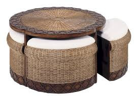 coffee table elegant round wicker coffee tables table things you