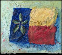 themed artwork tex mex themed paintings glass flag paintings