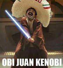 May The 4th Meme - obi juan kenobi behind the 8 ball ochoman behind the eightball