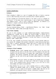 cloud computing notes unit i as per rgpv syllabus