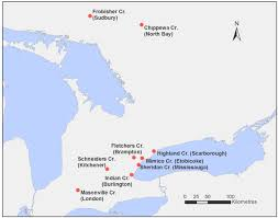 Map Ontario Ca Water Quality In Ontario 2014 Report Ontario Ca