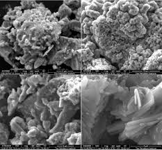 sem images of owc zero taken at various times after preparation