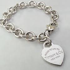 tiffany heart tag bracelet silver images Tiffany co very pretty return to heart tag sterling silver 7 jpg