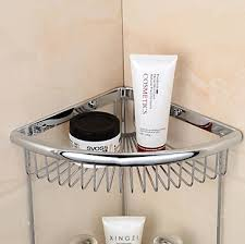 Shelves For The Bathroom Brass Double Space Bathroom Shelf For Bath Shower Bathroom Basket