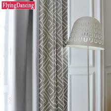 Kitchen Curtain Fabric by Compare Prices On Geometric Curtain Fabric Online Shopping Buy