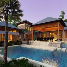 Balinese Style Bungalow In Kuala by Design And Build Bungalow Kim Guan Construction Sdn Bhdkim Guan