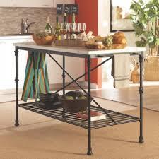 marble top kitchen island cart buy kitchen carts kitchen island with faux marble top by coaster