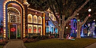 two tone mini christmas lights the ultimate and best christmas light displays in dfw for 2017