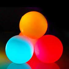 glow balls led glow contact juggling