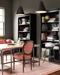 dark paint color inspiration for your room how to decorate home office with a moody feel from ballard designs