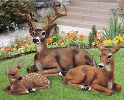 deer statues outdoor decor cool on home decorating ideas for yours