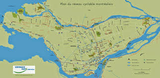 Metro Montreal Map by Cycling Maps Of Montreal Quebec Free Printable Maps
