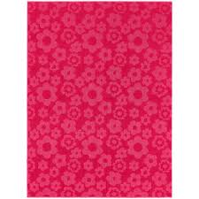 pink garland garland rug flowers pink 7 ft 6 in x 9 ft 6 in area rug cl 16