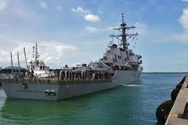Singapore Navy Flag Richardson U0027no Indication U0027 Uss Mccain Collision Due To Foul Play