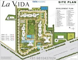 site plan tata la vida project site plan layout plan sector 113 gurgaon