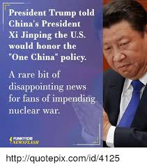 X I Meme - president trump told china s president xi jinping the us would