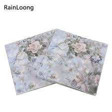 serviette en papier vintage achetez en gros imprim u0026eacute serviette en papier en ligne à des