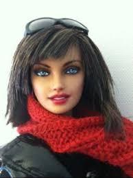 barbie basics ooak model 11 head repaint teresa model 04 body