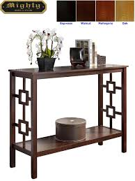Entry Hall Furniture by Wooden Stylish Entry Hall Contemporary Console Foyer Tables Wd