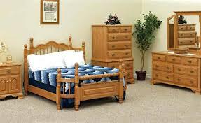 amish oak bedroom furniture