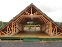 Barn Roof by Skandia Truss Room In Attic Construction Pinterest Roof