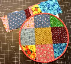 circular quilted placemats daily quilter