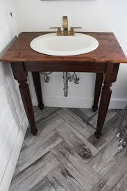 Bathroom Vanity Design Plans by Diy Farmhouse Bathroom Vanities Thewhitebuffalostylingco Rustic