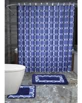 Navy Blue Bathroom Accessories by Here U0027s A Great Price On 4 Piece Luxury Navy Blue Bath Rug Set 3
