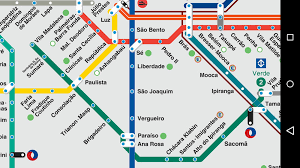 Metro Map Google by