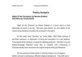 examples of poetry essays college essays college application