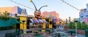 Map Universal Studios Hollywood Bumblebee Man U0027s Taco Truck Dining Universal Studios Hollywood