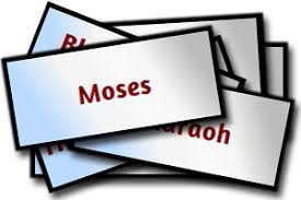 moses and the plagues bingo