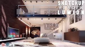 sketchup render lumion 6 47 best interior youtube
