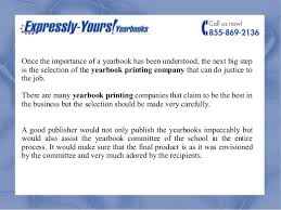yearbook companies merits of a yearbook published by a competent publisher