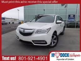 Used Acura Sports Car For Sale Used Acura Mdx For Sale In Salt Lake City Ut 84114 Bestride Com