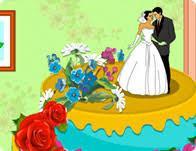 spring wedding cake games