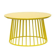 Yellow Side Table Ikea Yellow Coffee Table Contemporary Coffee Tables By Inside Avenue