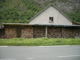 our firewood shed plans
