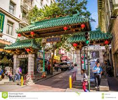 Chinatown San Francisco Map by Chinatown Gate Editorial Photography Image 52661727