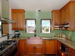 Green Tile Kitchen Backsplash Photo Page Hgtv