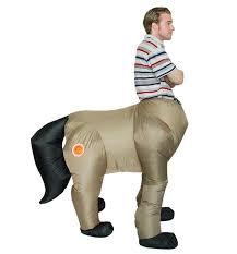 inflatable horse dinosaur centaur kid fancy dress