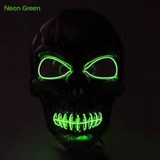 online buy wholesale halloween led light from china halloween led brelong halloween el cold light face mask led light 8 84 online
